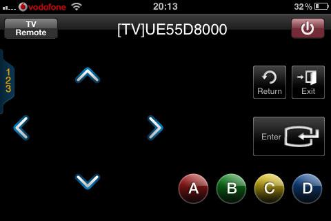 Iphone come telecomando wireless per le tv samsung for Telecomando smart tv
